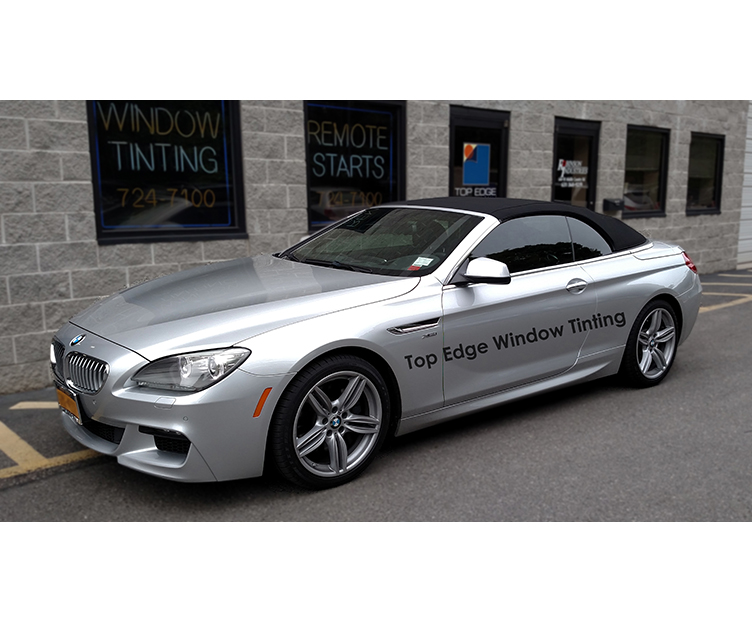 Silver BMW 6 Series Convertible