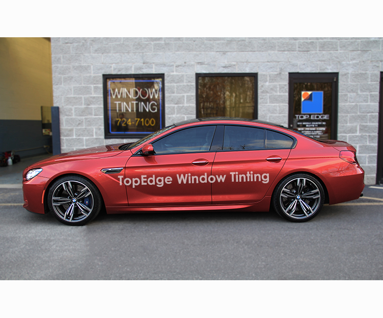Red BMW 6 Series